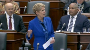 Premier Kathleen Wynne discusses the Ontario college faculty's rejection of the latest offer that would have ended a five-week strike.