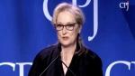 Extended: Meryl Streep speaks out on violence