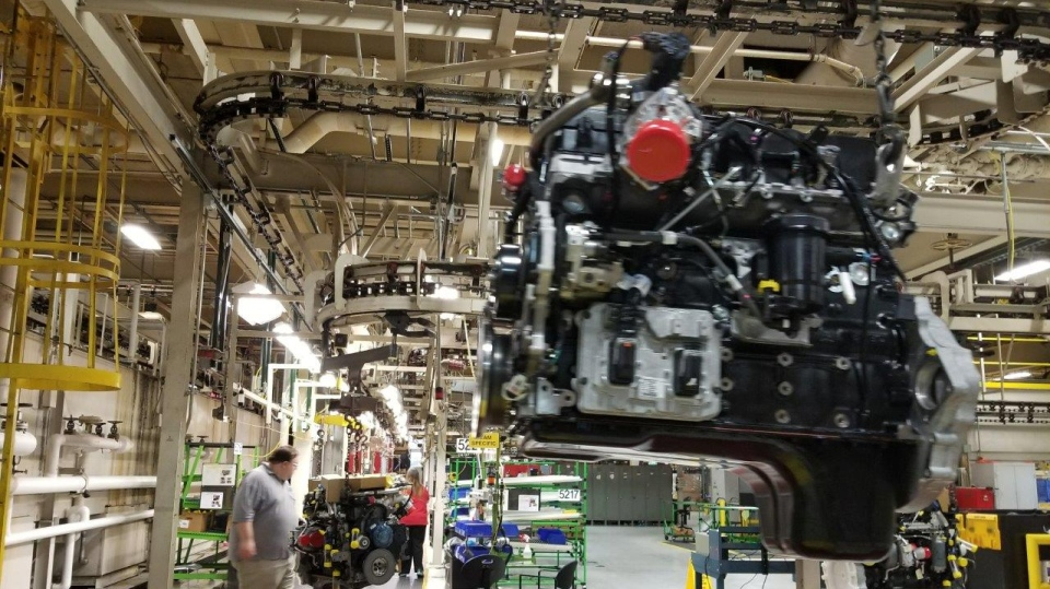 At the heart of Columbus is Cummins Inc., which builds diesel engines for the popular Dodge Ram pick-up truck using parts that are sourced from all over North America.