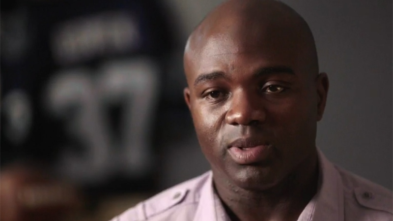 Orlando Bowen was a CFL player until he was arrested by police, assaulted and charged. Later acquitted, he has offered forgiveness to the officers and is encouraging others to seek the positive in their lives.