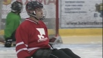 Scoring big at the Sunshine Sledge Hockey Tourname