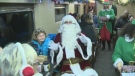 Polar Express leaves St. Jacobs for North Pole