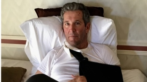 Pallister breaks arm in New Mexico