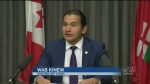 Wab Kinew gives alternative throne speech