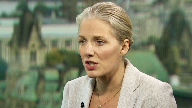 Environment and Climate Change Minister Catherine McKenna