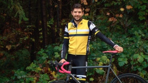 Travis Streb, a cyclist from North Vancouver, rode up Mount Seymour every day for a year to raise money for pancreatic cancer.