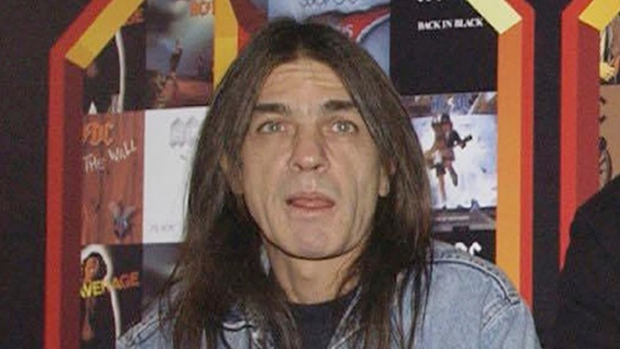 FILE - A March 3, 2003 file photo of AC/DC co-founder and guitarist Malcolm Young at an event in London. (Yui Mok/PA via AP)