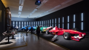 'Ferrari: Under the Skin' now open at the Design Museum (© Luke Hayes for the Design Museum)