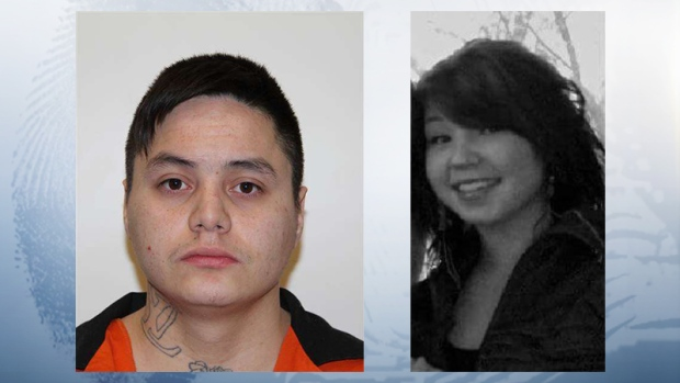 Lac La Biche RCMP have a warrant for the arrest of murder suspect Wesley Boudreau, and said Mandi Boucher, who went missing in Boyle, may be with him.