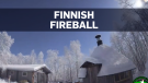 Finnish fireball turns night into day