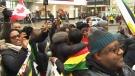 Zimbabwe demanding Mugabe resign