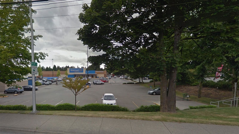 The Walmart is at 72nd Avenue and 120th Street in Delta, B.C. (Google maps)