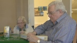 Brian Sweet visits his wife Dorothy at a nursing home in Bedford, N.S. and the two enjoy their time putting puzzles together and playing cards.