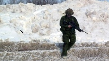 Sask. Dragoons Army Reserve on sight to recruit