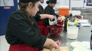Miller High students test their cooking skills