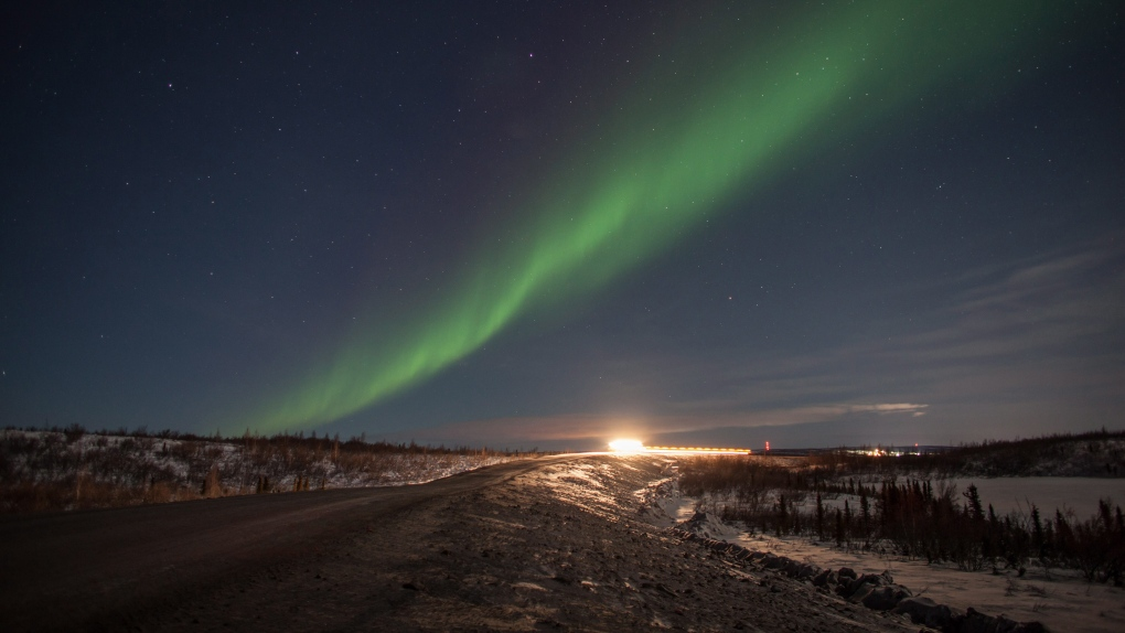 Northern lights potentially visible across Canada overnight