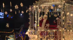 The annual Santa Claus Parade rolled through Cambridge Saturday night.