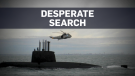 New hope in desperate search for missing submarine
