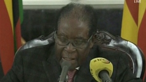 CTV News Channel: Mugabe speaks to Zimbabweans