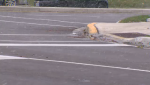 Police say a cyclist was struck by a vehicle at Fischer-Hallman and Activa in Kitchener.