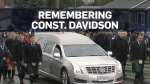 Thousands line B.C. streets for slain officer