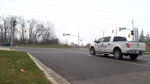 Charges pending after cyclist struck by truck