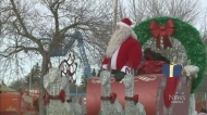 Annual Santa Parade rolls through town