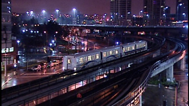 Business owners in downtown Vancouver are renewing calls for Skytrain to run later on weekend nights.