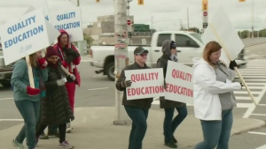 Ontario college strike ends