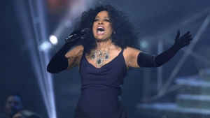 Diana Ross performs at the American MusicAwards at the Microsoft Theater on Sunday, Nov. 19, 2017, in Los Angeles. (Photo by Matt Sayles/Invision/AP)