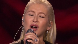 Reaction to Aguilera's tribute to Whitney Houston