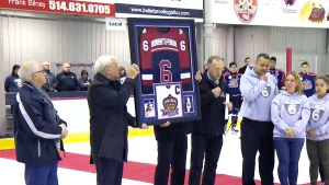 CTV Montreal: Jersey number retired