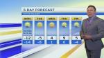 Temperatures flip in Calgary