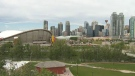 Calgarians say another Olympics in the city would be a good thing to bring the world to the city.