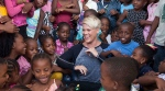 "Pink said she wanted to take part in World Children's Day ""to remind the world that children and young people's voices matter and that their perspectives must be included in the decisions that will shape their future."" (Michael Crook/UNICEF)"
