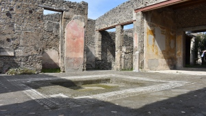 The House of Caecilius is shown in Pompeii, Italy. (House of Caecilius)