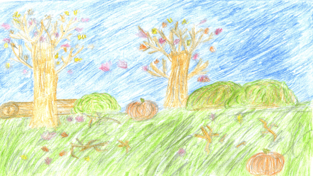 Julianne Emery, 9 years old, Grade 4, Mrs. Grace's class at St. Joseph
