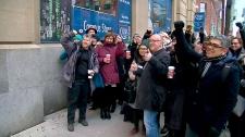 Teachers return to work after college strike