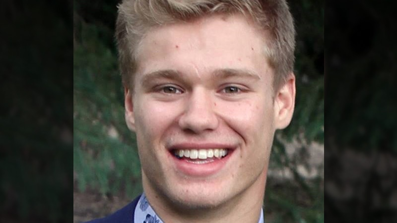 Tyler Emes, 18, is seen in an undated photo obtained by CTV News.