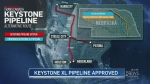 CTV Calgary: Nebraska gives Keystone a green light