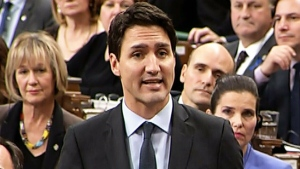 Justin Trudeau in question period