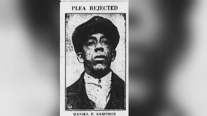 Daniel Perry Sampson was the last person to be hanged in Halifax.