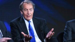 "FILE - In this Tuesday, Jan. 12, 2016, file photo, Charlie Rose participates in the ""CBS This Morning"" panel at the CBS 2016 Winter TCA in Pasadena, Calif. (Photo by Richard Shotwell/Invision/AP, File)"