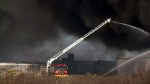 Industrial fire leads to air quality concerns