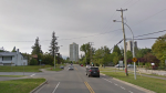 The area of 148 Street and 101A Avenue in Surrey, B.C. is seen in this undated Google Maps image.