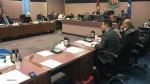 Members of city council at a regular meeting in Windsor, Nov. 20, 2017. (Rich Garton/CTV Windsor)