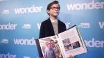Jacob Tremblay screens 'Wonder' at SickKids
