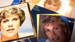 Anne Murray's recent decision to move house led to some good news for her Toronto-based fans: the singer has donated 40 years' worth of memorabilia, some of which is shown in a handout photo, to the University of Toronto's archives. (THE CANADIAN PRESS/HO/U of T News-Noreen Ahmed-Ullah)