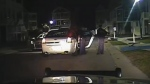 Caught on cam: Police cruiser stolen by suspect