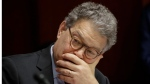 Sen. Al Franken, D-Minn., listens at a committee hearing at the Capitol in Washington on June 21, 2017. (AP / J. Scott Applewhite)